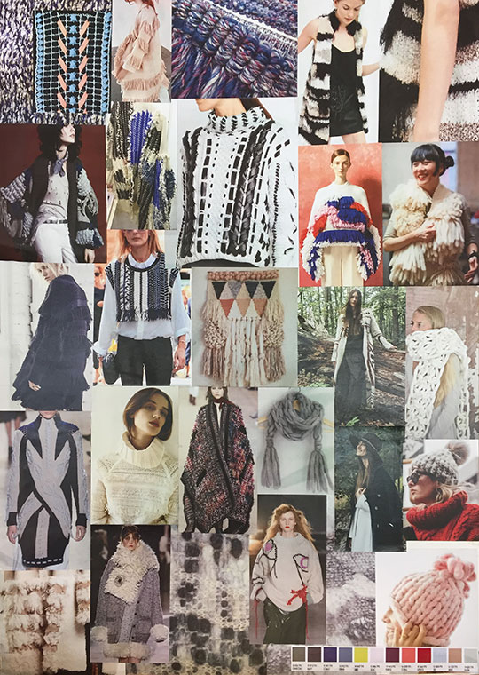 Xccessores fashion accessories design of hats, gloves and scarves